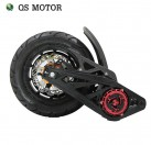 QSMOTOR 3000W 5000W 138 70H electric motorbike mid drive motor for electric motorcycle