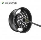 QS Motor 17x6.0inch 12000W 273 70H V4 In-Wheel Hub Motor for E-Motorcycle