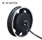 QS Motor 17x3.5inch 6000W 273 45H V3 In-Wheel Hub Motor for E-Motorcycle
