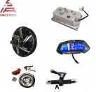 QS 273 8kW E-Motorcycle Spoke Hub Motor Conversion kits with 72V110KPH top speed