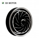 "QS 8000w V3 Brushless DC hub motor for 14"" electric motorcycle"
