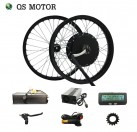Hot sale QS Motor 100kph 3000W 205 50H V3 Electric Bicycle Motor Kits with SVMC72150 controller