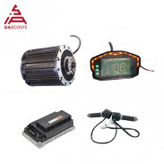 Siaecosys QS Motor 120 2000W spline shaft mid drive motor with EM72100SP controller and kits for electric dirtbike