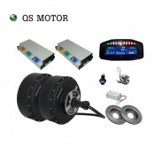 SiAECOSYS 2021 New 8000W V4 96V 125kph 2wd dual Hub Motor with APT96600 controller kits for E-Car