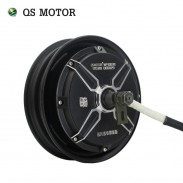 QSMOTOR 10inch 500W - 3000W 4000W 205 48V - 96V BLDC direct drive electric wheel Hub Motor