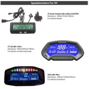 Electronic cycle analyst universal digital speedometer for Electric Bicycle Motorcycle Car