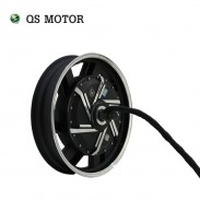 QS High Power 17inch 2000W - 8000W 12kw 14kw 273 DC Brushless Electric Motorcycle Hub Motor for motorcycle