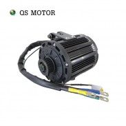QSMOTOR 138 4000W Air Cooled Mid Drive Motor With Belt Shaft