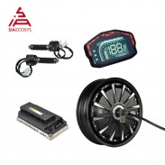 SiAecosys/QSMOTOR 12x3.5inch 260 3KW In-Wheel Hub Motor Conversion Kits for 72V80KPH E-Scooter