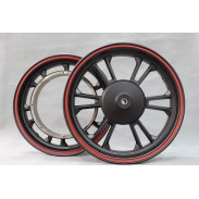 12 X 2.15 inch 133s scooter motorcycle aluminum front and rear wheel rim