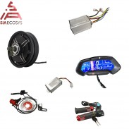 Siaecosys QSMOTOR 10inch 3000W 205 50H V3 72V80KPH conversion kits with kelly sine wave controller