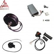 QS Motor 205 3kW spoke hub motor with SVMC72150 controller including  bluetooth adapter and Twist Throttle