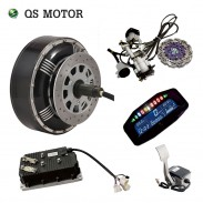 2018 Popular dual 8000W 273 50H V3 in wheel hub motor electric hybrid car conversion kit