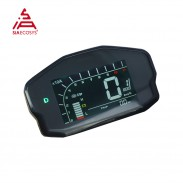 New adjustable DKD LIN CAN-BUS communication optional Electric Scooter LCD Instrument Speedometer Display for VOTOL controller