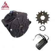 QS MOTOR 138 3000W new version mid drive motor sprocket 428 and EM150SP controller for electric dirt bike