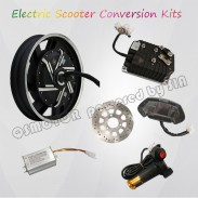 QS Motor Kelly Controller 17inch 8000W Electric Motorcycle Motor Conversion Kit