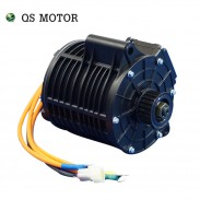 QS 138 3kW 72V80KPH Mid drive motor with new appearance belt design