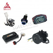 Siaecosys QS Motor 138 3KW V3 mid drive motor conversion kits with EM150-2SP Controller for go-kart