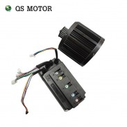 QSMOTOR 3000W 138 70H electric bike mid dirve motor with EM150SP controller