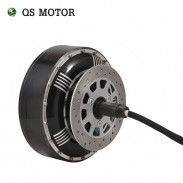 8000W 273 50H V3 72V 96V 20kW 350N.m Peak Brushless DC Gearless Electric Car In Wheel Hub Motor