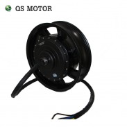 QS Motor 17X4.5inch 14kW 273 80H V3 Water Cooled Electric Motorcycle Hub Motor