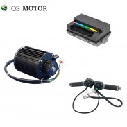 QS 1000W 72V 55KPH 428 Sprocket Mid Drive Motor kits with EM50SP controller for electric scooter