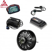 SiAECOSYS QSMOTOR 3000W 72V 80kph Hub Motor with EM100SP controller and kits for electric scooter