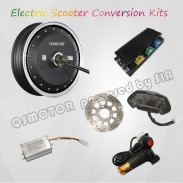 QS Motor APT 13inch 8000W Hub Motor E Scooter kit / Electric Scooter Conversion Kits