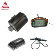 Siaecosys QS Motor 120 2000W belt shaft mid drive motor with EM72100SP controller and kits for electric motorcycle
