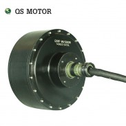 QS MOTOR High power 12kw 24kw 70H V3 e car hub motor for 100KPH Speed