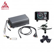 Hot sale TFT UKC1 display with 14KW motor electric bike controller sine wave system Bluetooth Adapter Included
