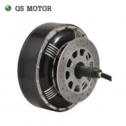 Powerful QSMOTOR 3000W - 14000W 273 BLDC Electric Car Single Shaft Wheel Hub Motor for electric cars