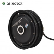 QS Power 10inch 500W - 1000W 4000W 205 Single Shaft Electric BLDC Wheelchair Hub Motor