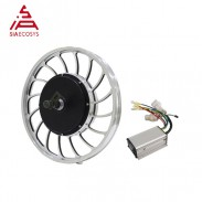 Siaecosys QS MOTOR 20X2.125inch 1000W 205 V2 Electric Bike Cast Wheel Hub Motor With KLS4812S For Electric Bicycles Solar Tricycle