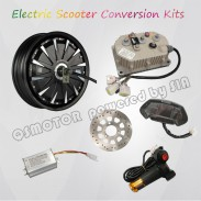 QS 12inch 260 5000W E Scooter Kit Electric Scooter Hub Motor Conversion Kit