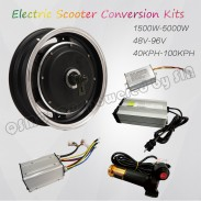 QS Motor 12inch 205 3000W E Scooter Electric Scooter hub motor Conversion Kits