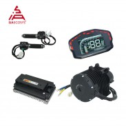 Siaecosys QS Motor 138 3KW V3 mid drive motor conversion kits with EM150-2SP Controller for e-motorcycle