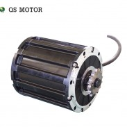 QS 120 2kW 72V60KPH Mid drive motor with 428 sprocket driven