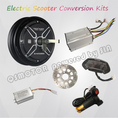 QS Motor 10inch 3000W E Scooter Electric Scooter Hub Motor