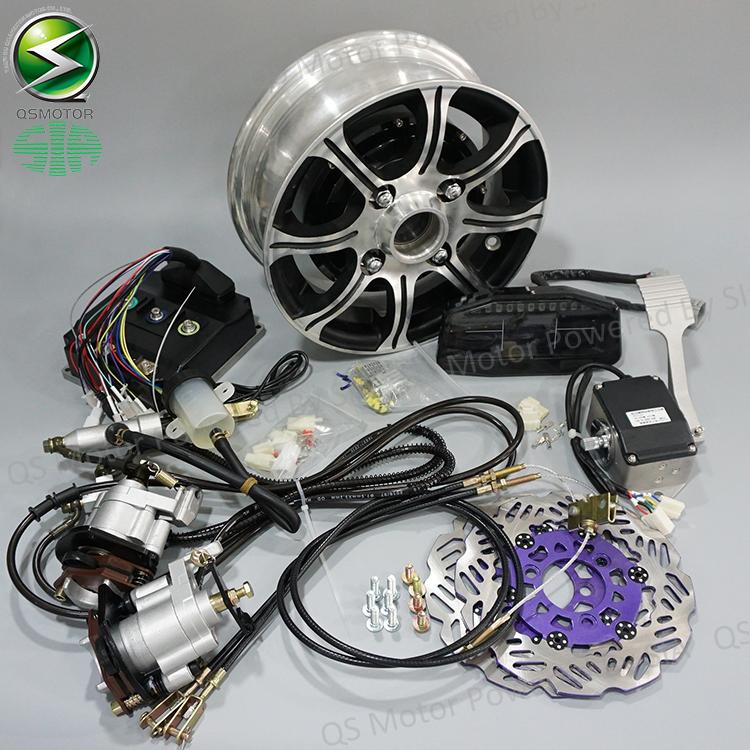 72V 90KPH Electric Car Conversion Kits, 2X3000W Hub Motor