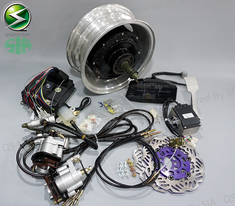 72v 90kph Electric Car Conversion Kits 2x3000w Hub Motor Kits Taizhou Quanshun Motor Co Ltd