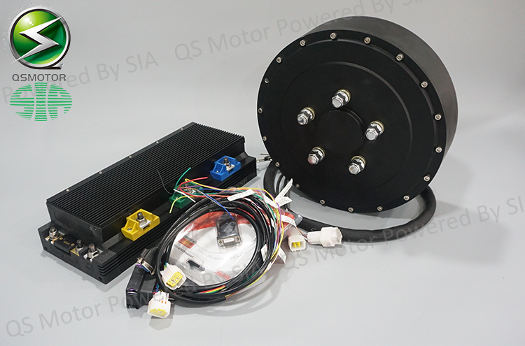 96v 125kph Electric Car Conversion Kits 2x8000w Hub Motor Kits Taizhou Quanshun Motor Co Ltd