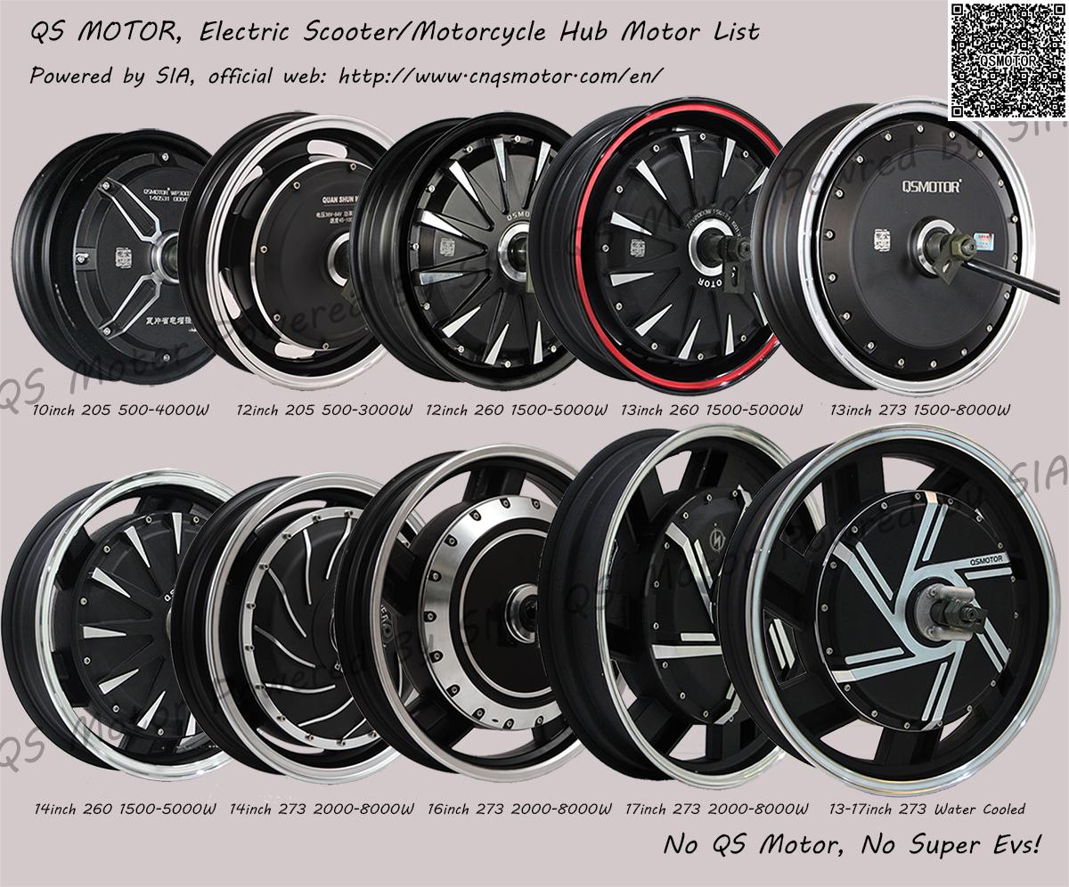 Qs Motor High Power 500w 16000w Brushless Dc Gearless