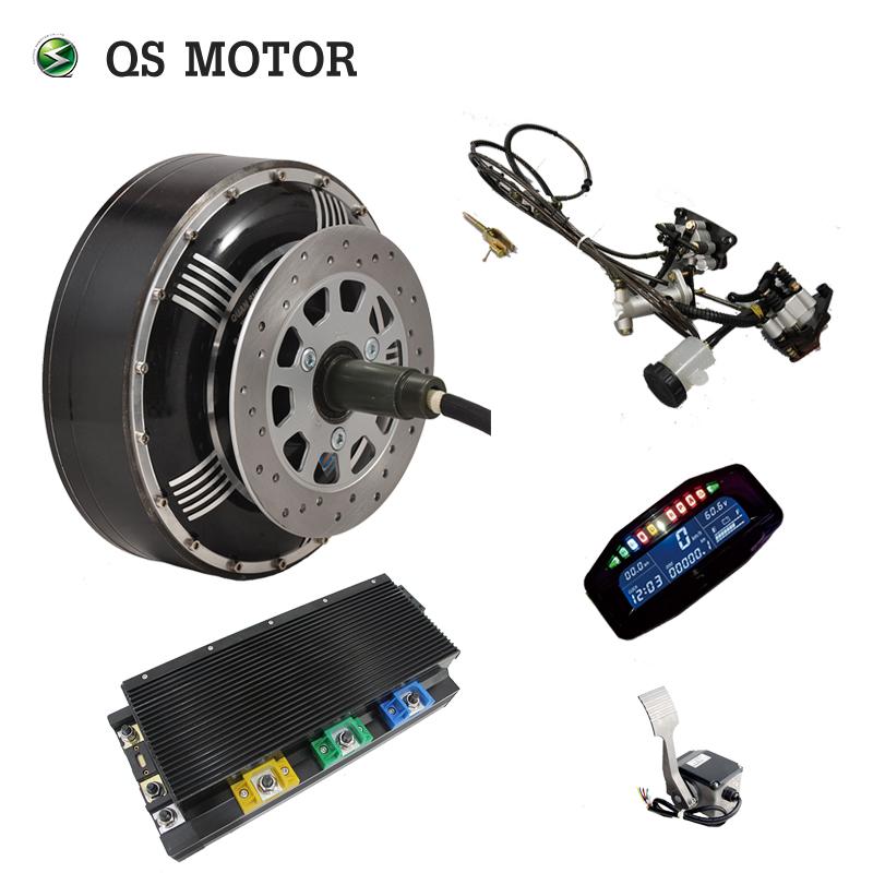 High Efficiency dual 8000W 273 50H V3 electric car hub motor